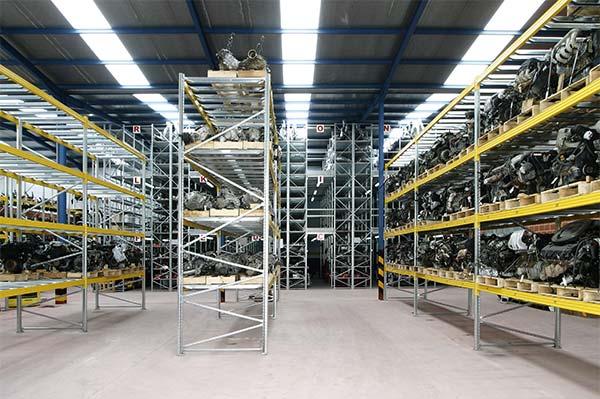 magazzino carico