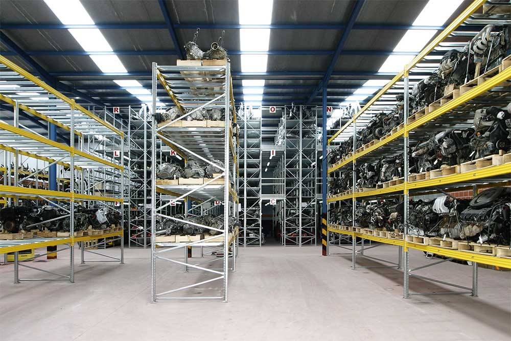 scaffalature metalliche magazzini industriali